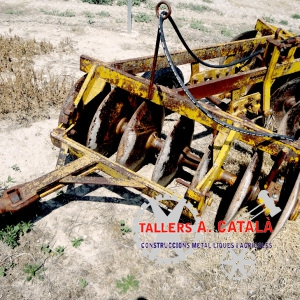 Grada Arrossegada tractomotor